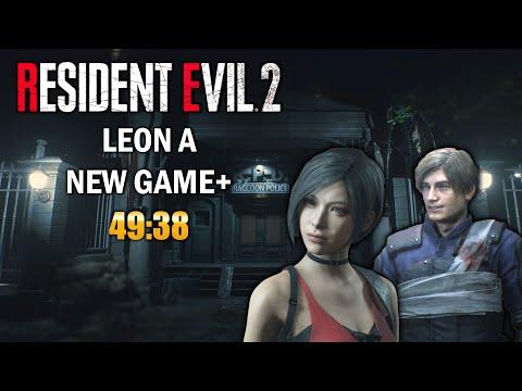 Resident Evil 2 Remake Speedrun Leon A NG+ 49:38 [Former World Record]