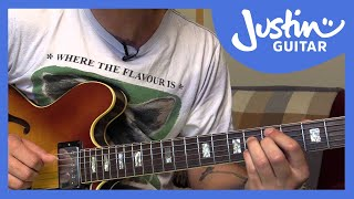 Jazz Standard: Blue Bossa - Chords - Kenny Dorham (Guitar Lesson JA-540)