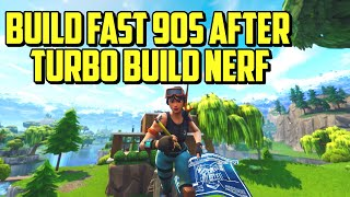 How to Build 90s AFTER Turbo Build Nerf - (Waterfall, Tunneling, 90s) Fortnite Tips Patch