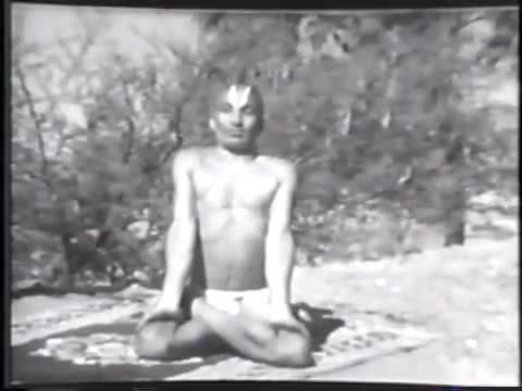 Ancient India Yoga Technique by Ancient Gurus (Silent)   1938 video footage
