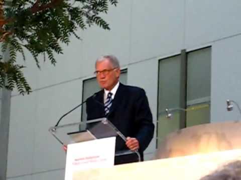 David Letterman part ii, Ronald Perelman Heart Institute Grand Opening.flv