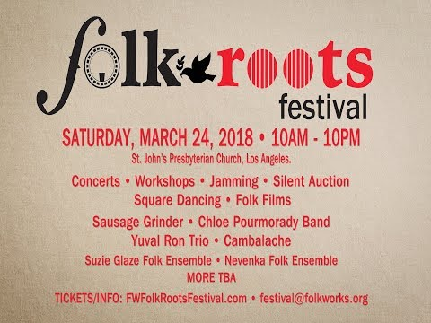 Folkworks - Folk / Roots Festival Campaign
