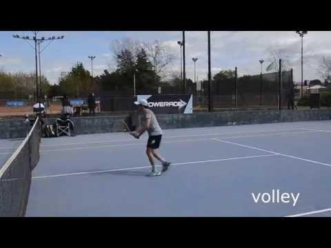 College tennis recruting video FALL 2017-Santiago Ramos