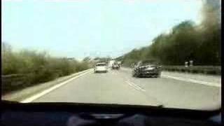 BMW 540i V8 Tam gaz