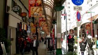 2017 [ 大阪散步行 ] - 動物園前地鐵站步行往新世界「通天閣」商店街