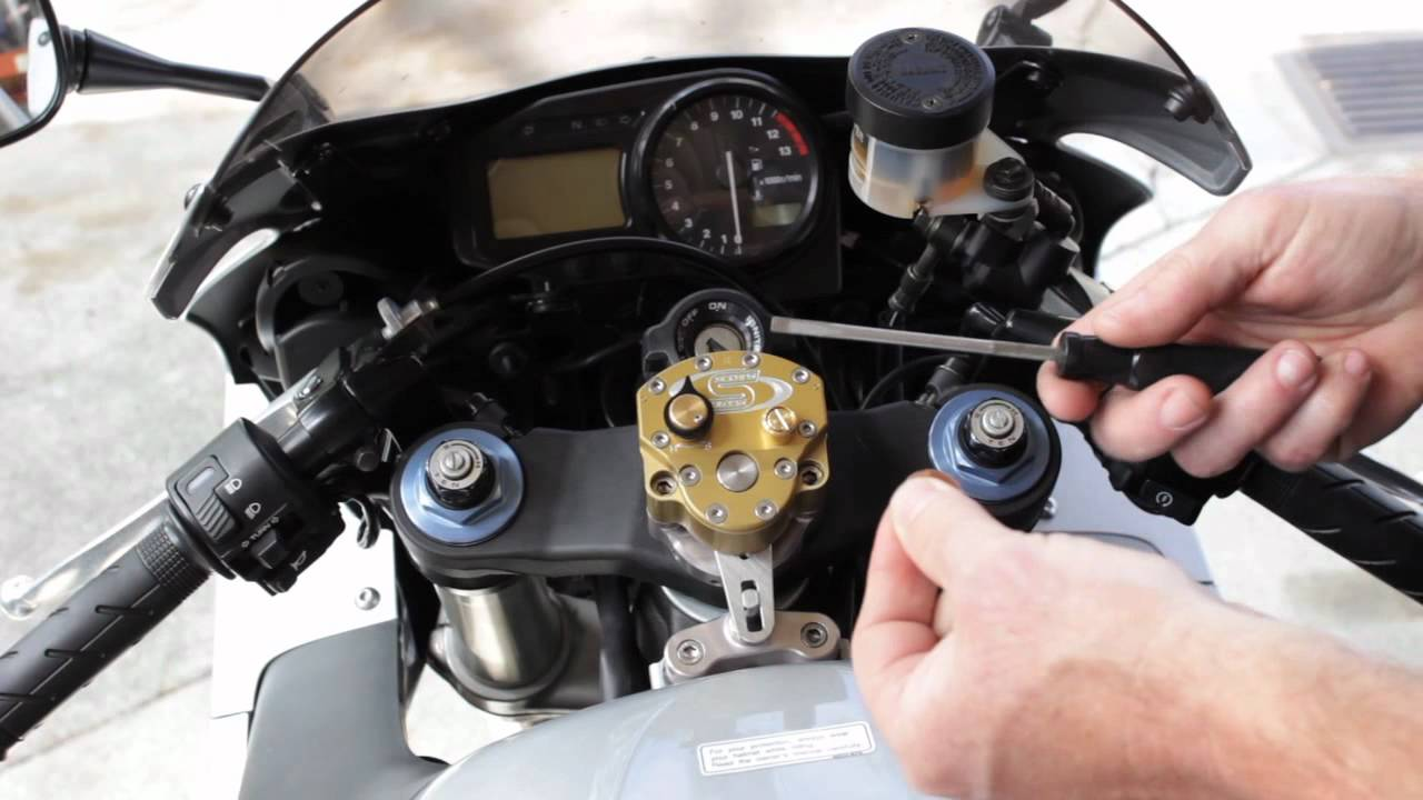 Scotts Performance Setting Your Streetbike Stabilizer