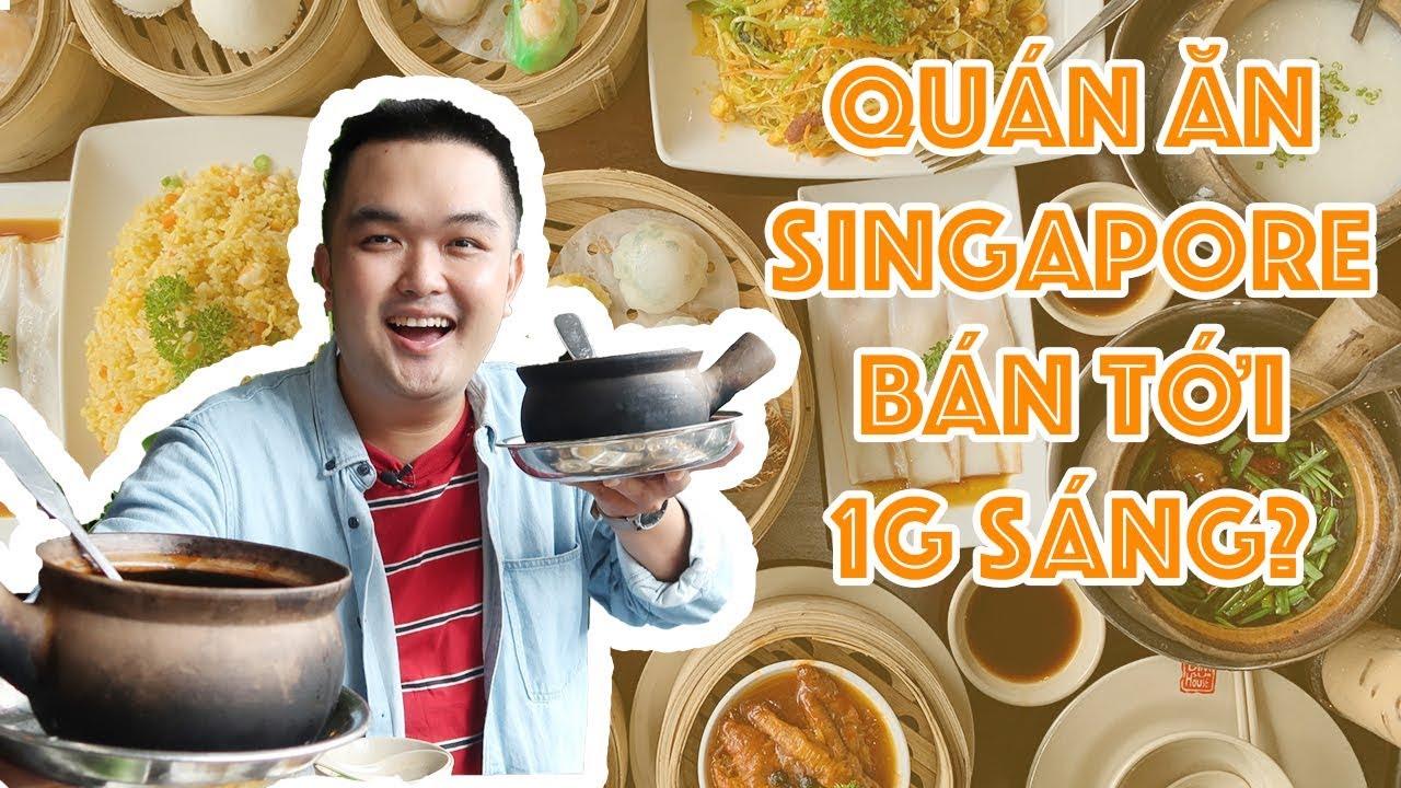 Có gì ở QUÁN DIMSUM CHÁO ẾCH SINGAPORE bán tới 1h sáng ngay trung tâm Q1 !! || ĂN SẬP SÀI GÒN