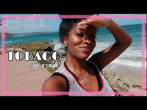 1 NIGHT IN TOBAGO! | TRAVEL VLOG