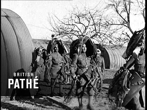 Indian Army Special Newsreel (1940)