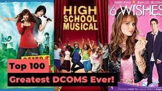 Top 100 Greatest Disney Channel Original Movies