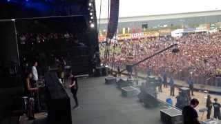 Bring Me The Horizon - Shadow Moses - Full Intro - Reading Festival side of stage