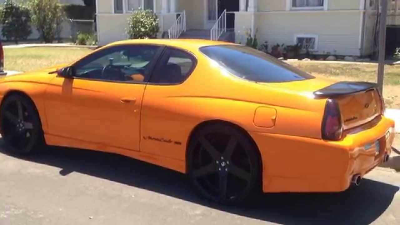 2005 Monte Carlo Ss >> CUSTOM MONTE CARLO SS ON 24S - YouTube