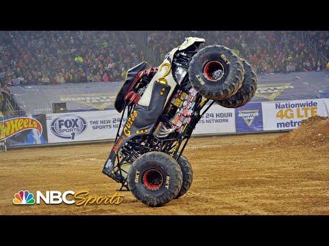 Monster Jam 2019: Houston, TX   EXTENDED HIGHLIGHTS   Motorsports on NBC