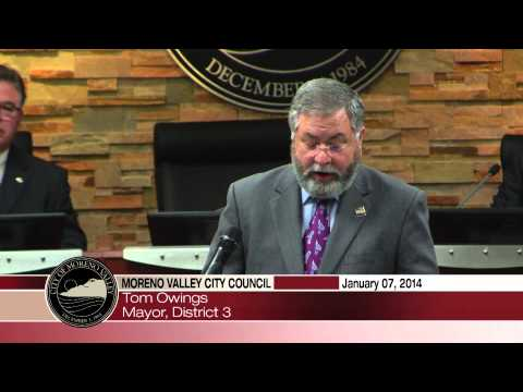Mayor Tom Owings Swearing In Speech