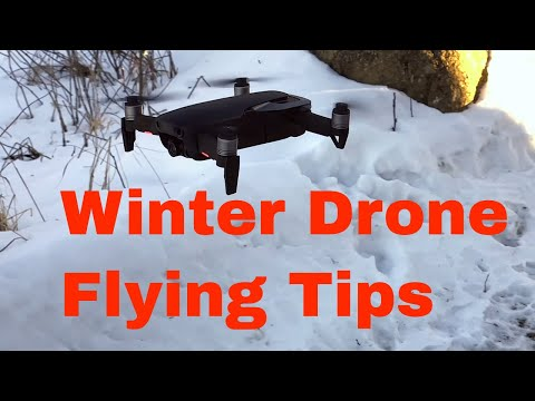 How to fly the DJI Mavic Air in Cold Weather
