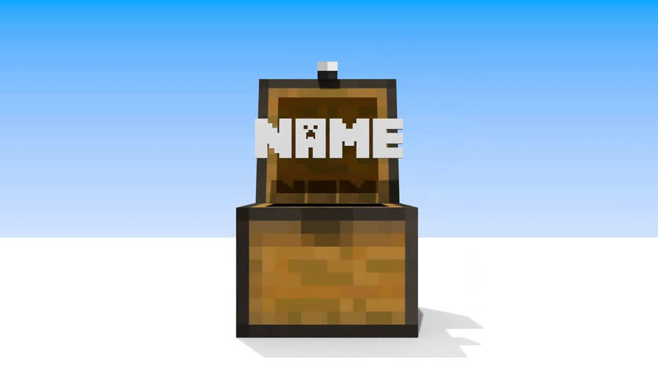 2 Free Minecraft Blender Intro Template 2 Youtube