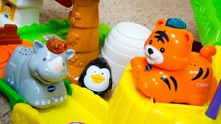 VTech Go! Go! Smart Animals Zoo Explorers Playset with Kinder Playtime