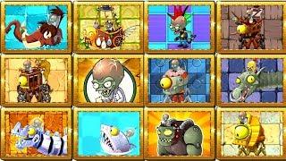 Max 12 Zomboss in Plants vs Zombies 2 Max Level Plants  Power Up vs All Zomboss