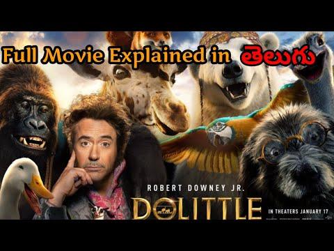 Dolittle Full Movie Explained In Telugu | Hollywood Movies Explained In Telugu | Filmy Overload