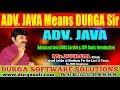 Advanced Java (JDBC,Servlet & JSP) Basic Introduction by Durga Sir
