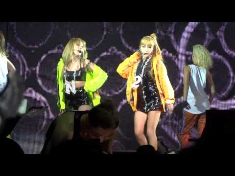 2NE1 Don't Stop the Music New Evolution L.A. Part 5/23