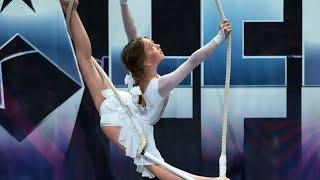10-letnia dziewczynka zatańczyła jak zawodowa tancerka! [Mam Talent]