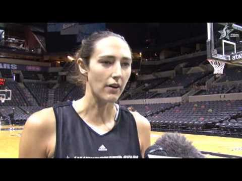 Ruth Riley - Shootaround Report 7/17/09