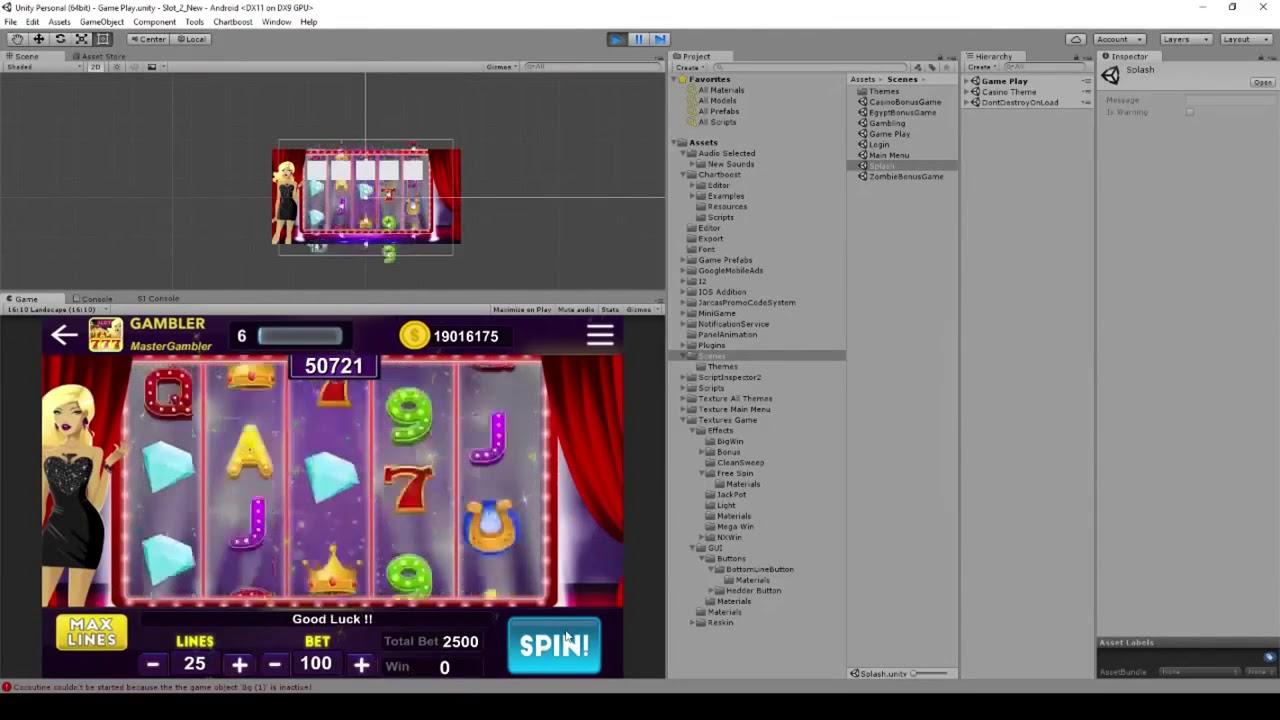Slot Machine Flash Game Source Code