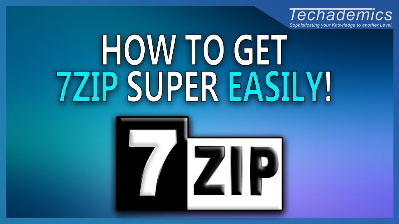 How To Download and Install 7zip Windows 10 PC