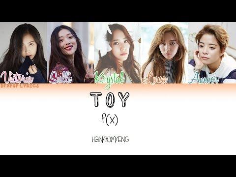 F(x) – Toy [HAN/ROM/ENG] Color Coded Lyrics