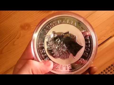 1kg Kookaburra Silver Bullion Coin HD
