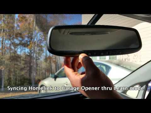 How to Program Toyota Prius Garage Opener Homelink