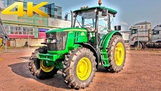 Трактор John Deere 6135B - мощный универсал для любых задач в сельском хозяйстве. Обзор 2018