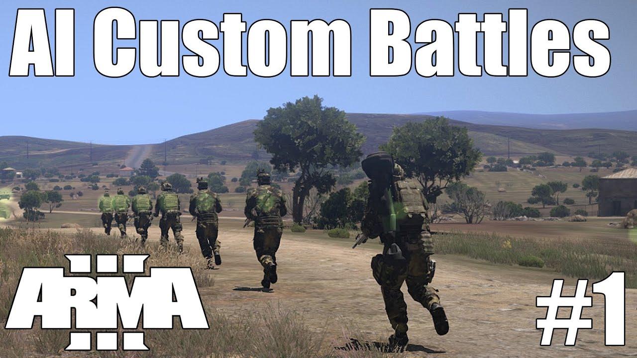 Arma 3 - Large AI Custom Battles 1