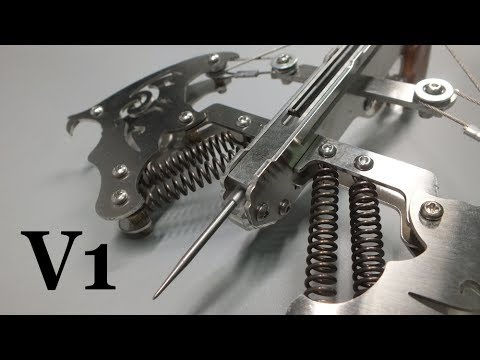 Crossbow 2017 V1 Mechanical Springs Drawing Force A