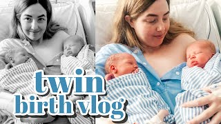 THE BIRTH OF OUR TWINS (birth vlog)