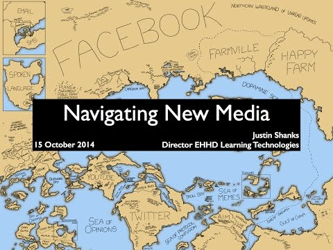 Navigating New Media Workshop: Enriching Teaching, Learning, Research, and Outreach