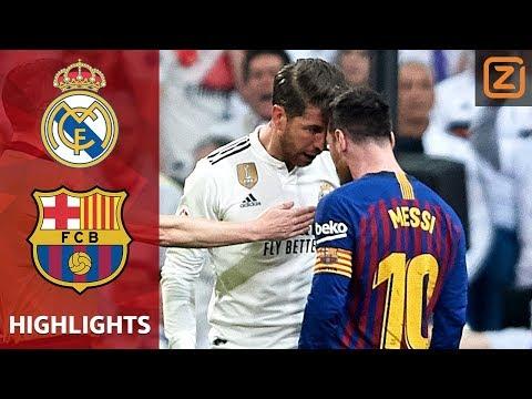 BARCA Schrijft HISTORIE In EL CLASICO🥇   Real Madrid Vs FC Barcelona  La Liga 2018/19  Samenvatting