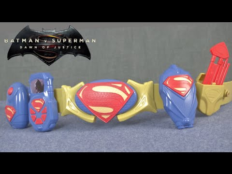 Download Batman v Superman Superman Deluxe Action Belt Set from Thinkway Toys