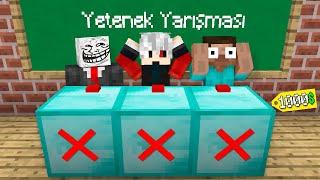 1000$ YETENEK YARIŞMASI - Minecraft