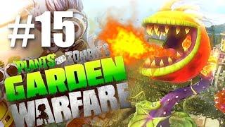 ДРАКОША! #15 Plants vs Zombies: Garden Warfare (HD) играем первыми