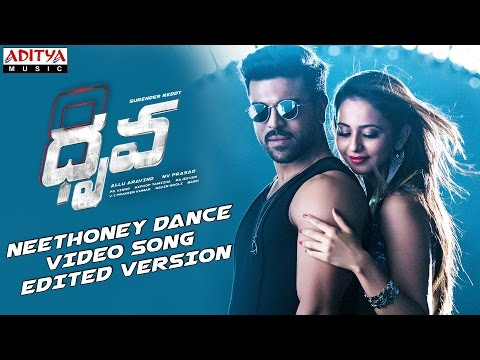 Neethoney Dance Video Song (Edited) ||DhruvaMovie || Ram Charan Tej, Rakul Preet