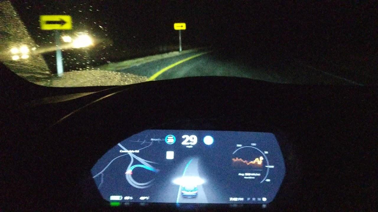 CURVE OF DEATH Tesla Self Driving AutoPilot ACCURACY TEST 004 | AP2