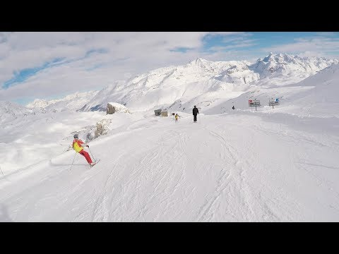 VAL DE SAIRE SKIING 2018 - FRENCH ALPS