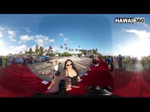 Hawaii Five-O Season Premiere 7 in 360 - Sunset on the Beach