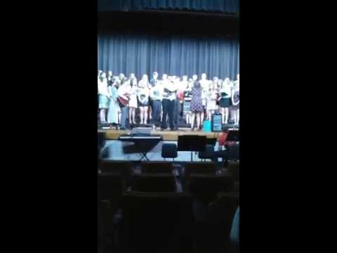 2015 Mahanoy Area High School Chorus Wagon Wheel