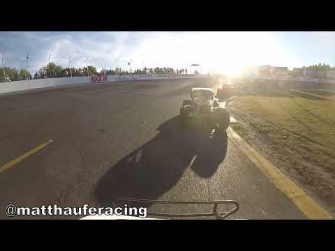 Sunset Speedway Ontario Legends Heat #2 September 22 2018 Matt Haufe #44