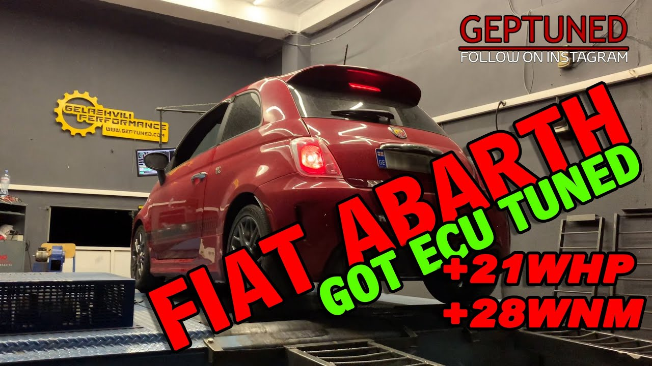 Fiat Abarth ECU Tuning