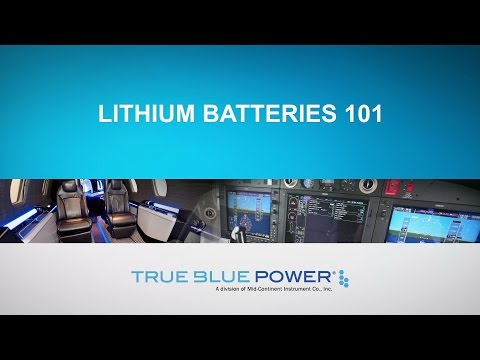 Lithium Batteries 101