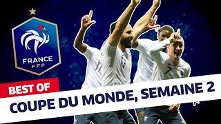 """Équipe de France, le """"best of"""" des Bleus - semaine 2, Inside I FFF 2018"""